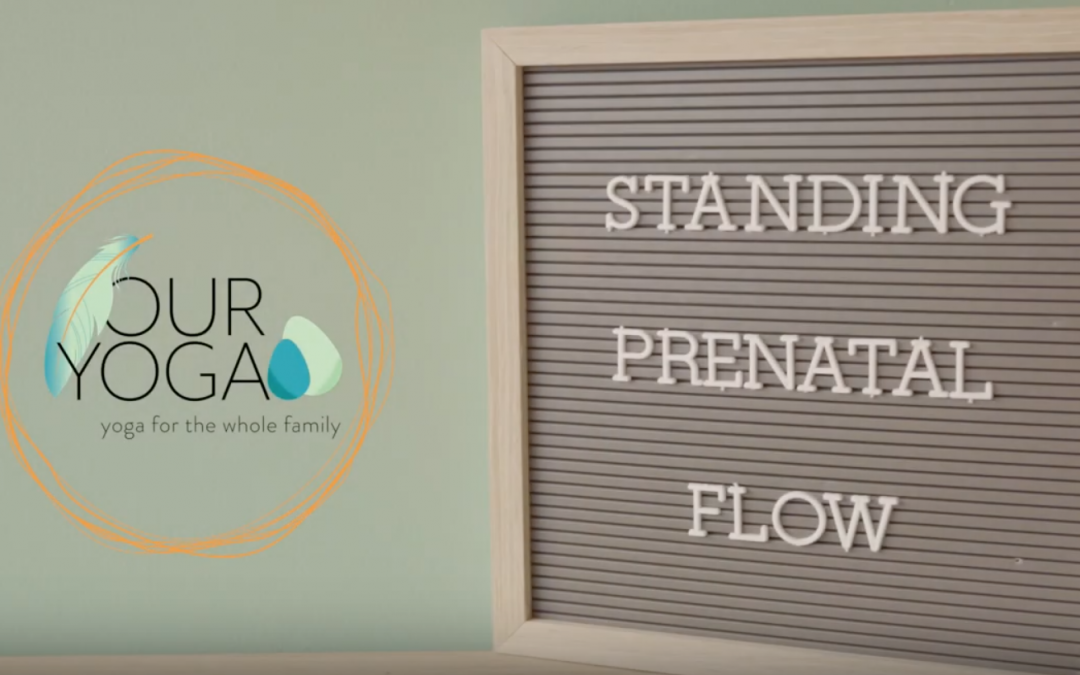 Prenatal Yoga Flow: Standing Sequence